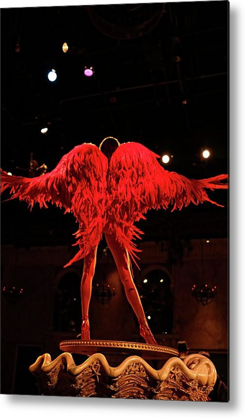 Fashion Metal Print featuring the photograph Wings Of An Angel by Nick Difi
