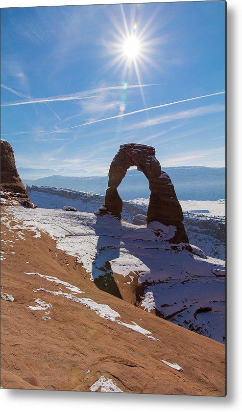 Delicate Arch Metal Print featuring the photograph Delicate Arch by Robert VanDerWal