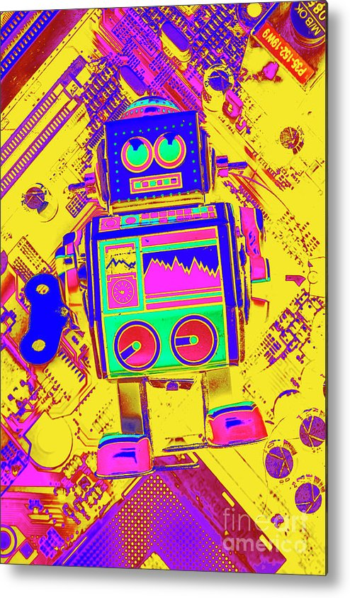 Toy Metal Print featuring the photograph Automated Nostalgia by Jorgo Photography - Wall Art Gallery