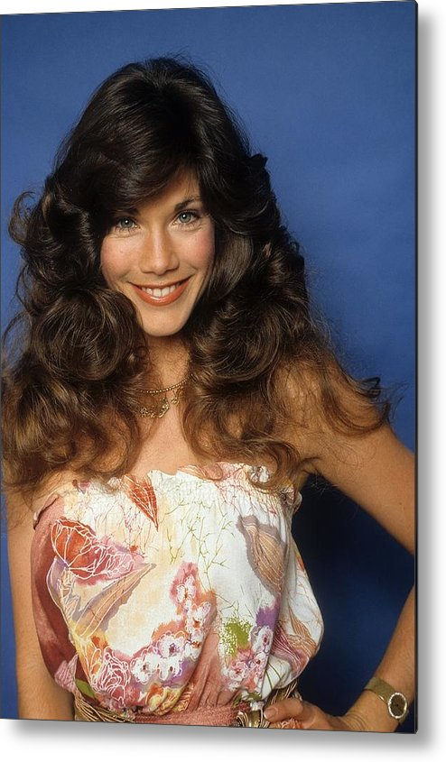 Barbi Benton Portrait Metal Print By Donaldson Collection