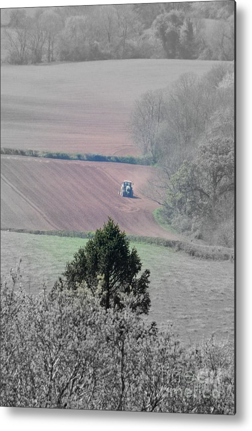 Farmer Metal Print featuring the photograph Farmer by Andy Thompson