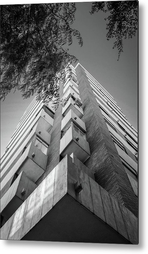 Skyscraper Metal Print featuring the photograph Just Another Skyscraper by Borja Robles