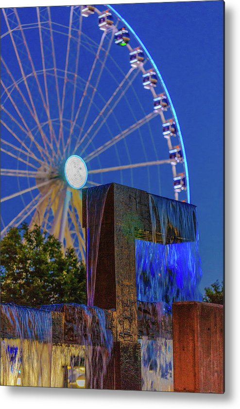 Seattle Metal Print featuring the photograph Wealthy At Waterfront Park by Scott Campbell
