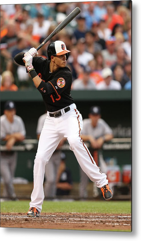 People Metal Print featuring the photograph Manny Machado by Patrick Smith