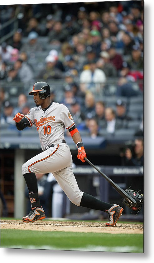 East Metal Print featuring the photograph Adam Jones by Rob Tringali