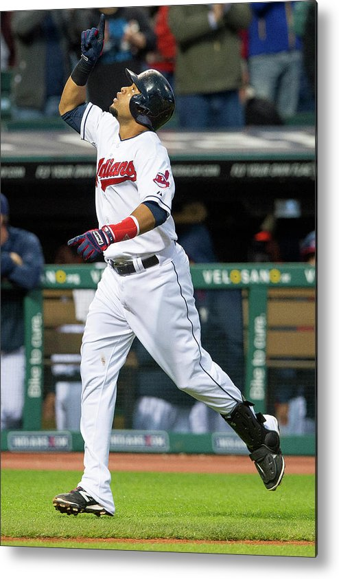 Second Inning Metal Print featuring the photograph Carlos Santana by Jason Miller