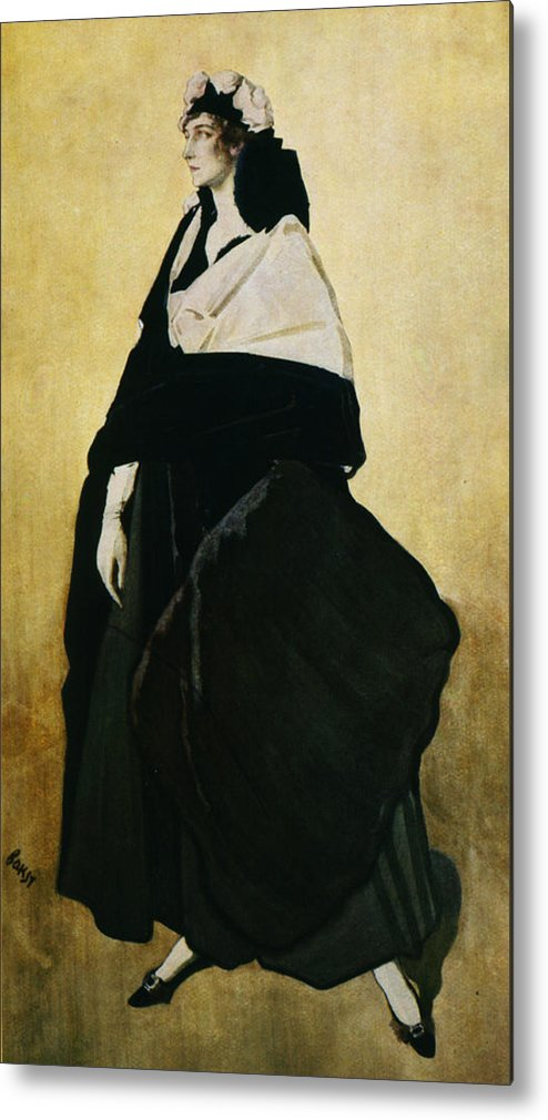Leon Bakst Metal Print featuring the painting Portrait Of Ida Lvovna Rubinstein by Leon Bakst
