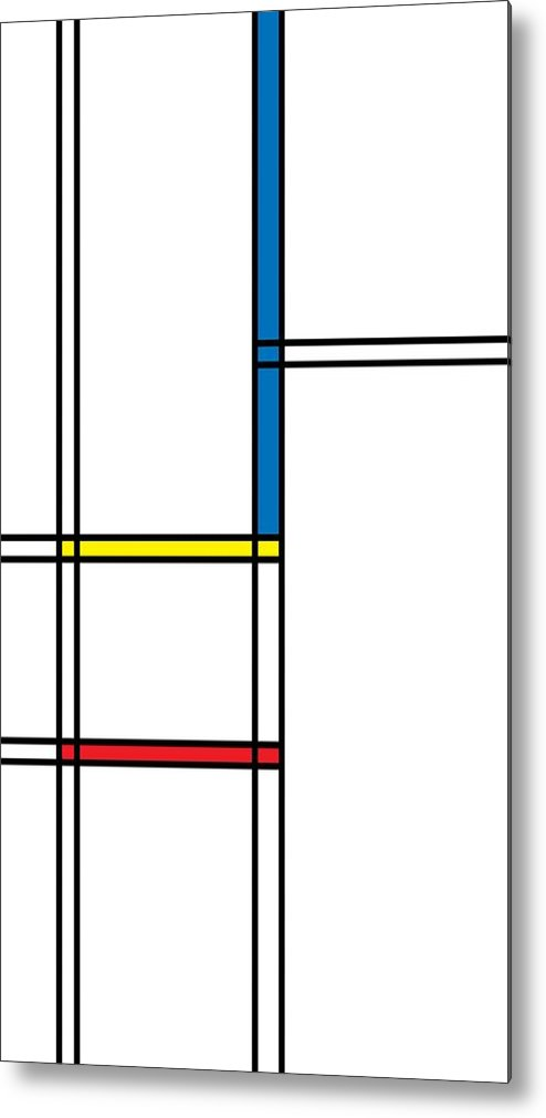 Geometric Art Metal Print featuring the digital art Geometric Art 344 by Bill Owen