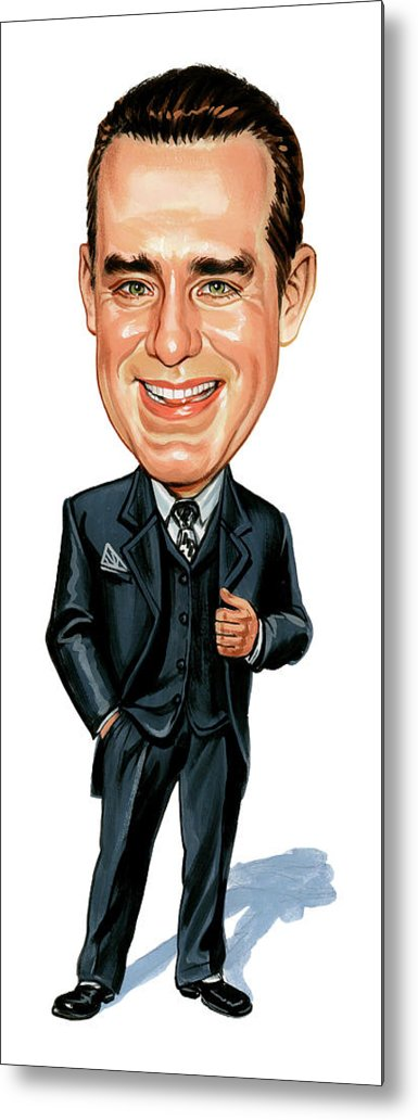 Phil Hartman Metal Print featuring the painting Phil Hartman by Art