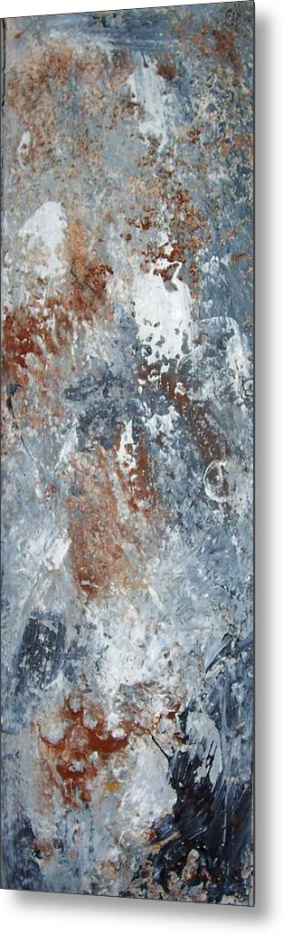 Acrylix Metal Print featuring the painting Untitled by Elizabeth Klecker