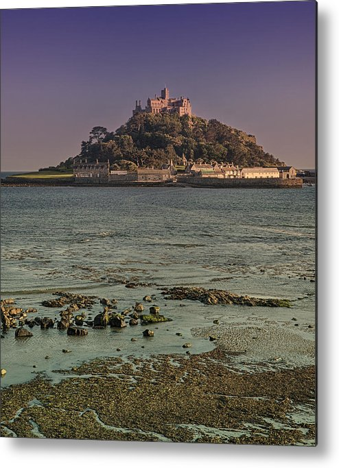 St Michaels Mount Metal Print featuring the photograph St Michaels Mount by Graham Moore
