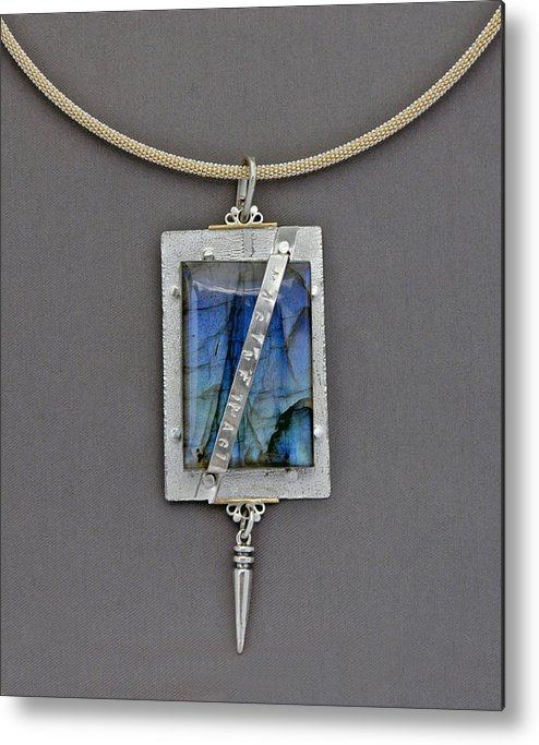 Jewelry Metal Print featuring the jewelry Imagine by Mirinda Kossoff