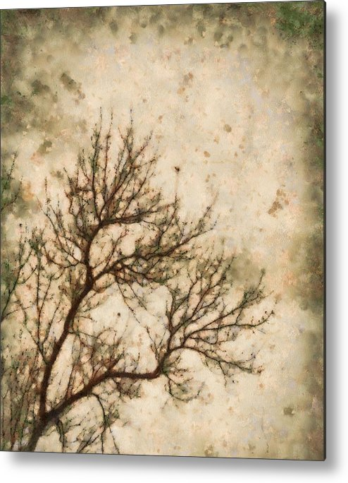 Winter Solitude Metal Print featuring the painting Winter Solitude by Dan Sproul