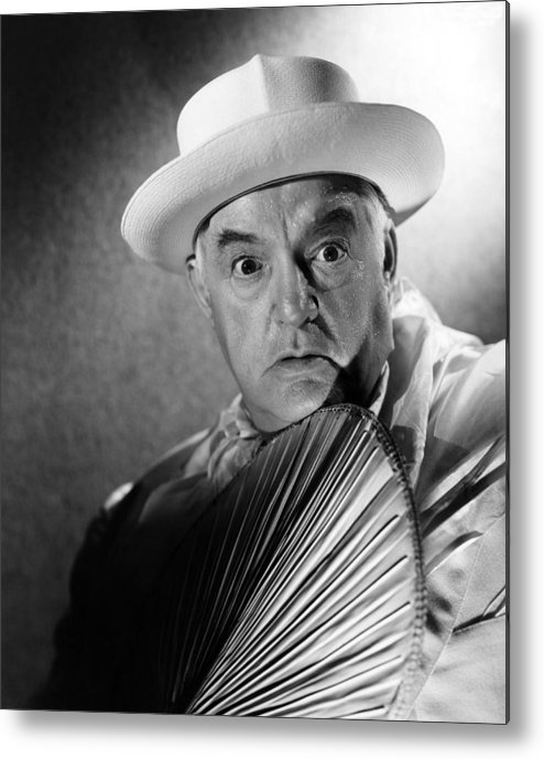 1940s Portraits Metal Print featuring the photograph Across The Pacific, Sydney Greenstreet by Everett