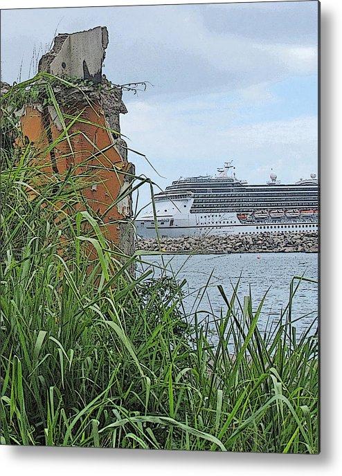 Cruise Metal Print featuring the photograph Thrust by Ian MacDonald