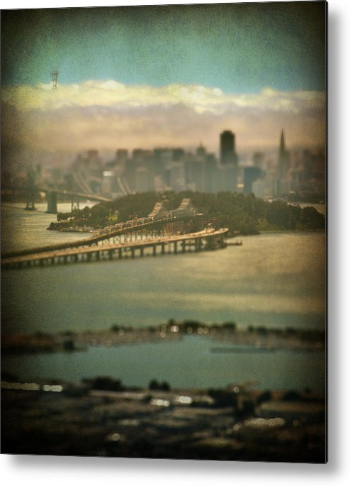 San Francisco Metal Print featuring the photograph Big City Dreams by Laurie Search