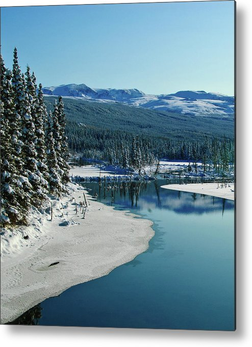 Alaska Metal Print featuring the photograph Donnelly Creek by Jim and Kim Shivers