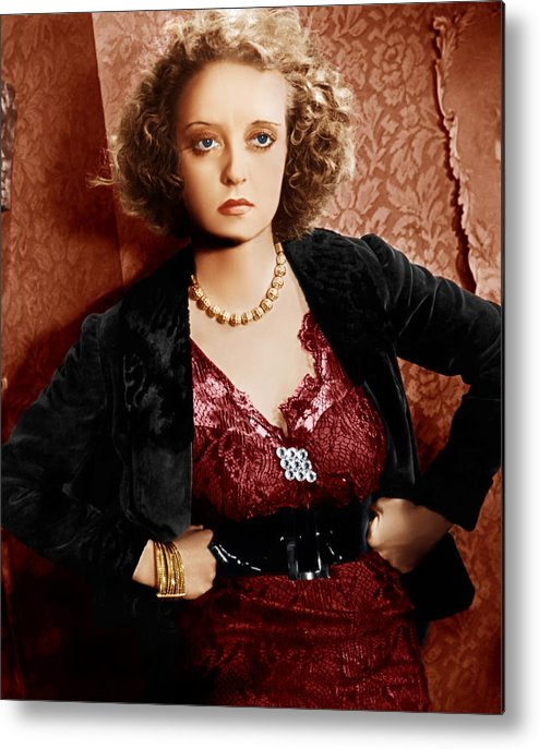 1930s Movies Metal Print featuring the photograph Of Human Bondage, Bette Davis, 1934 by Everett