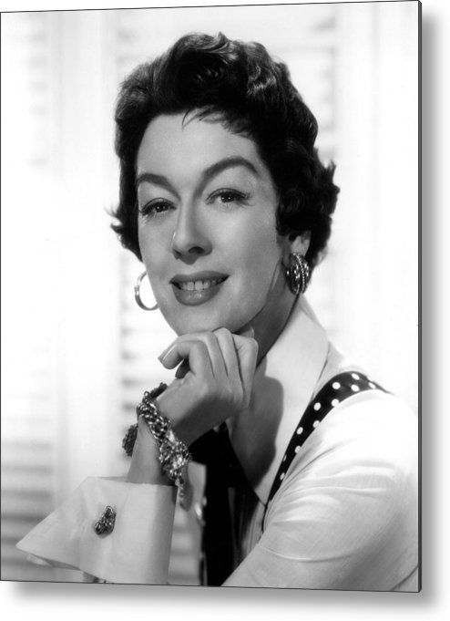 1950s Movies Metal Print featuring the photograph The Girl Rush, Rosalind Russell, 1955 by Everett
