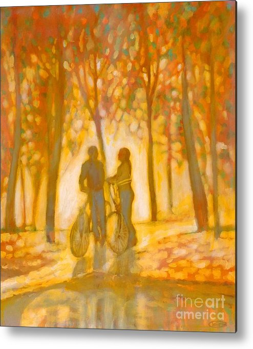 Romance Metal Print featuring the painting Chance Encounter by Kip Decker