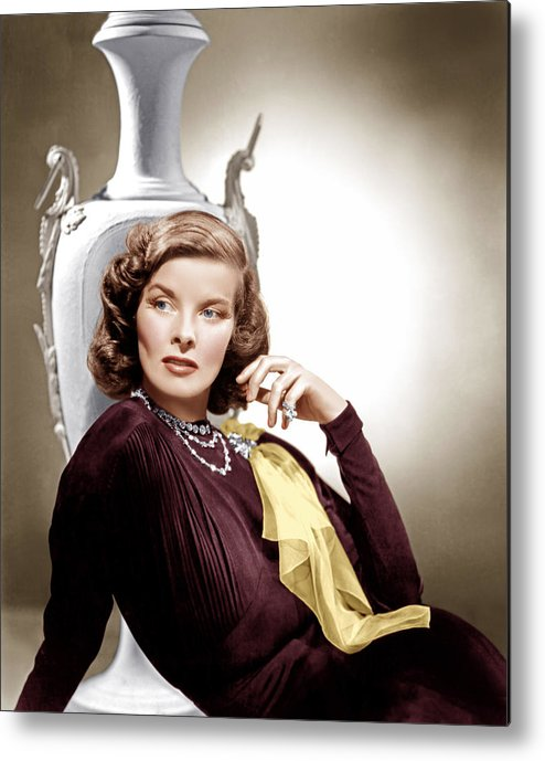 1930s Movies Metal Print featuring the photograph Holiday, Katharine Hepburn, 1938 by Everett