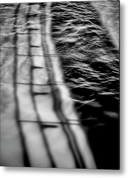Abstract Metal Print featuring the photograph 512 by Garth Pillsbury