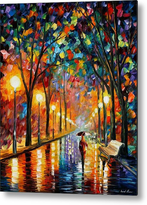 Afremov Metal Print featuring the painting Before The Celebration by Leonid Afremov