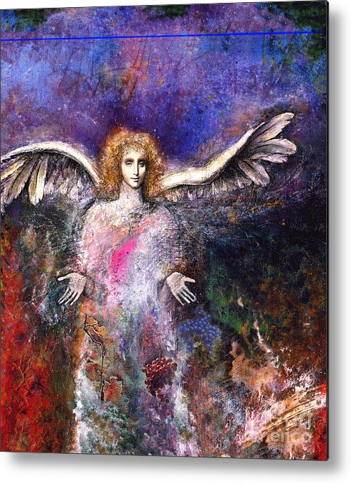 Angel Metal Print featuring the painting Emergence by Marne Adler