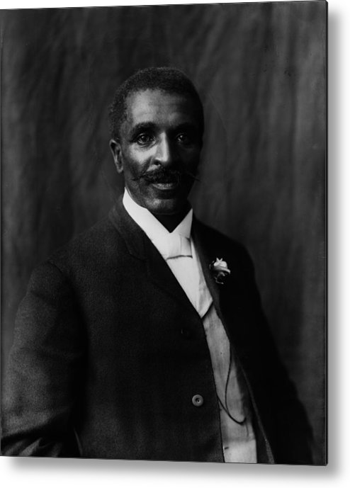 1900s Metal Print featuring the photograph George Washington Carver 1864-1943 by Everett