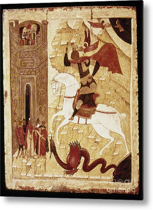 16th Century Metal Print featuring the photograph Russia: Icon by Granger