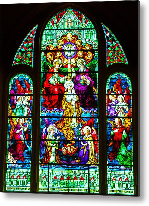 Cape May Metal Print featuring the photograph Stained Glass by Bill Cannon