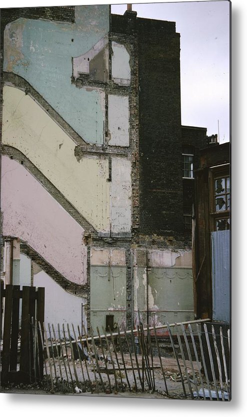 Urban Metal Print featuring the photograph Bomb Site by Terence Nunn