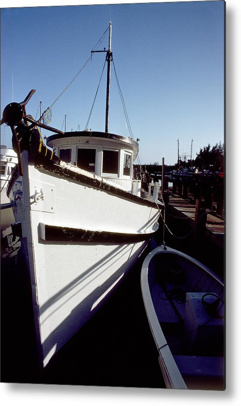 Boat Metal Print featuring the photograph Boat by Jon Neidert