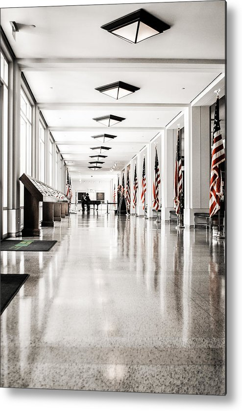 Nixon Metal Print featuring the photograph Corridor by AR Harrington Photography
