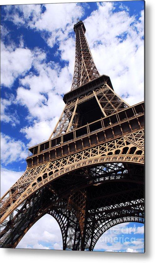 Eiffel Metal Print featuring the photograph Eiffel Tower by Elena Elisseeva