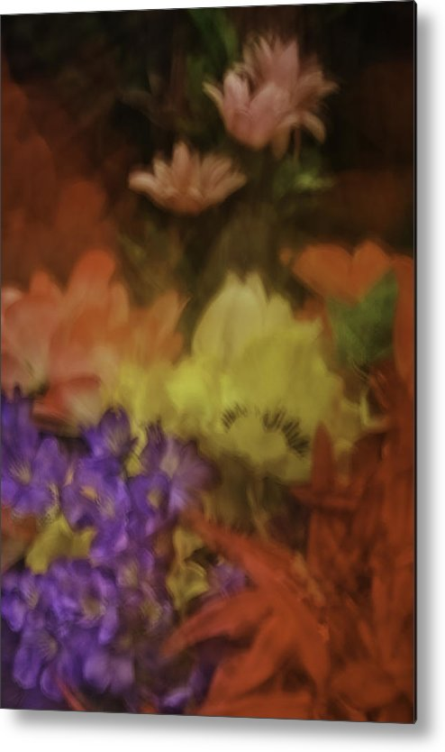 Garden Metal Print featuring the photograph Garden Impression 39 by Charles Garrett