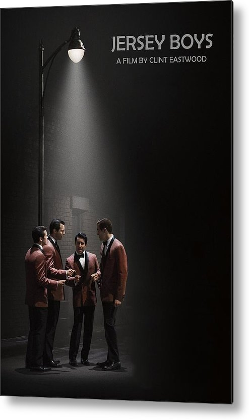 Jersey Boys Metal Print featuring the photograph Jersey Boys By Clint Eastwood by Movie Poster Prints