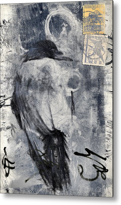 Crow Metal Print featuring the photograph Looking Eastward by Carol Leigh
