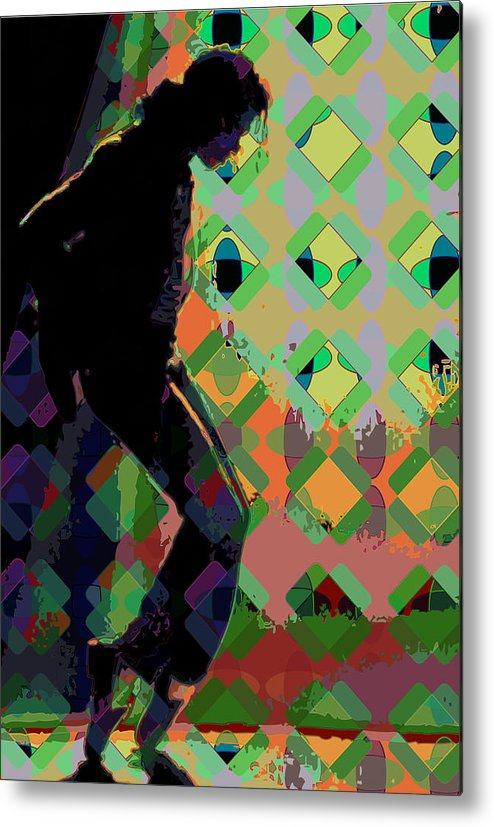 Michael Jackson Metal Print featuring the digital art Michael Jackson by Scott Davis