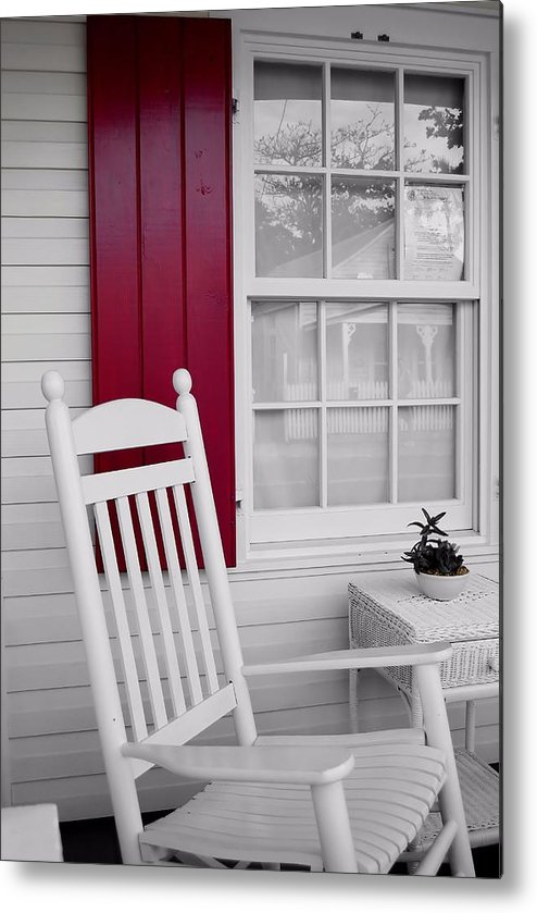 Key Metal Print featuring the photograph Porch Dreams by JAMART Photography