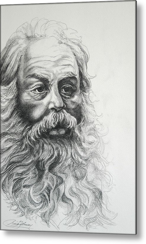 Christmas Metal Print featuring the drawing Saint Nicholas Of Compassion by Craig Gallaway