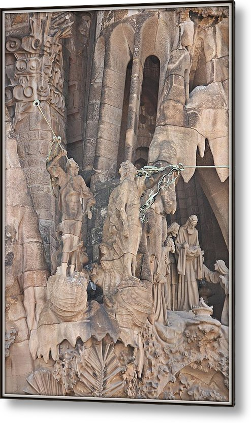 Sagrada Familia Metal Print featuring the photograph The Birth Of An Era by Nick Difi