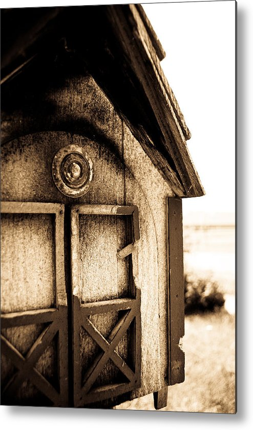 Metal Print featuring the photograph Toledo Mailbox by Becky Anders