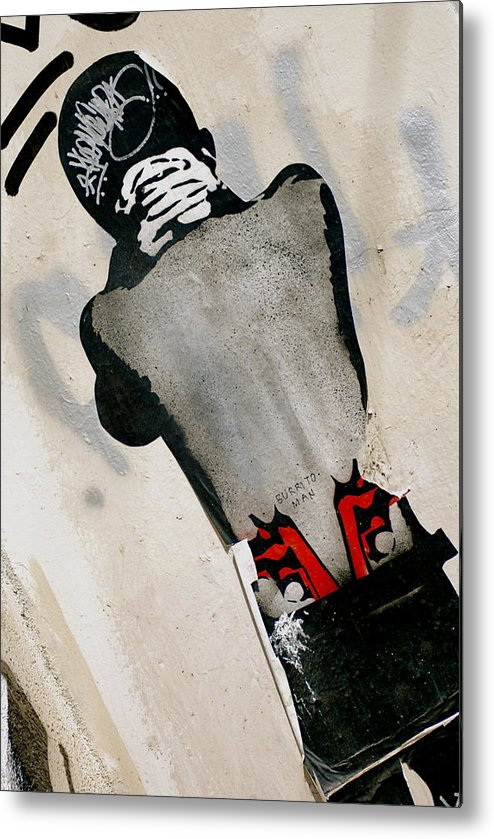 Street Art Metal Print featuring the photograph Troubled Cool by Marc Levine