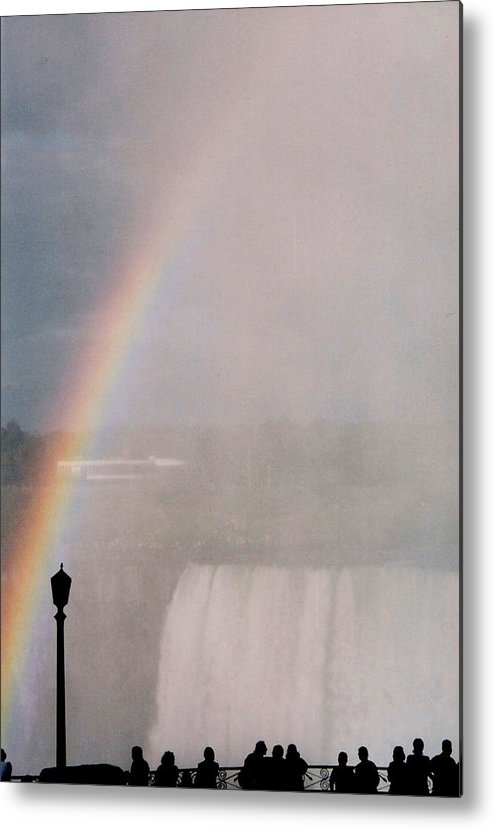 Waterfall Metal Print featuring the photograph Rainbow Falls by Pharris Art