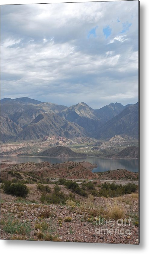 Andes Metal Print featuring the photograph Andes by Jen Bodendorfer
