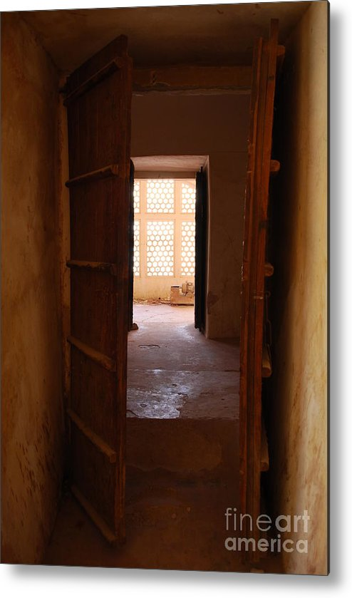 India Metal Print featuring the photograph Doorway by Jen Bodendorfer