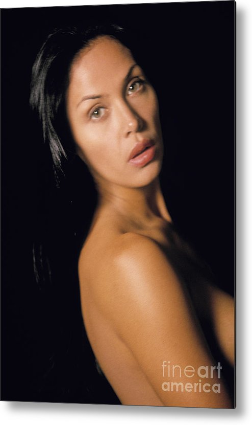People Metal Print featuring the photograph Nude Woman by Juan Silva