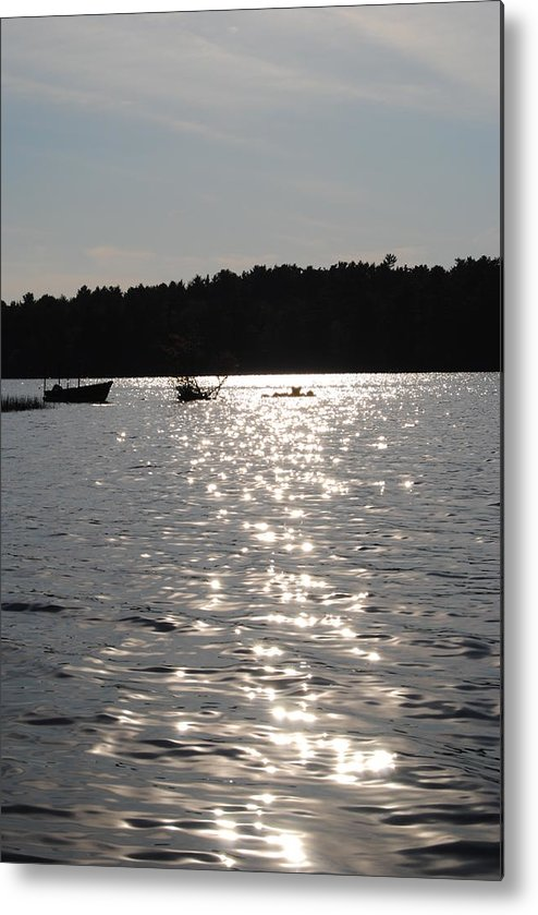 Metal Print featuring the photograph Tispaquin Pond by Jennifer Powers