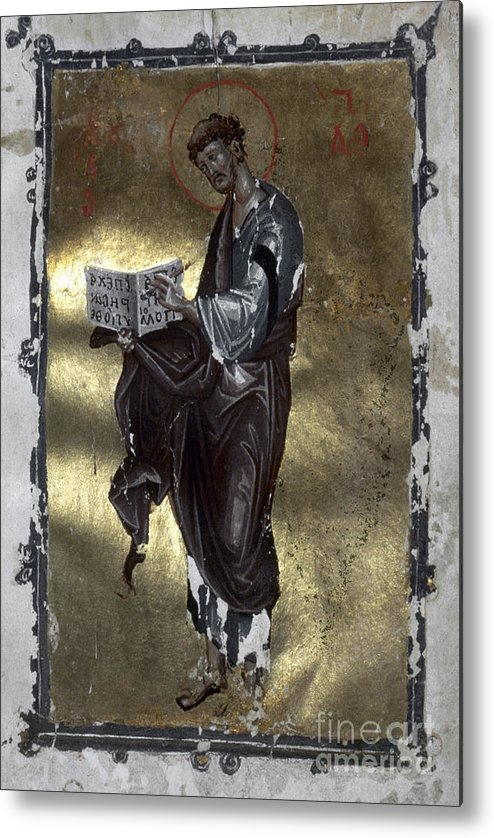 13th Century Metal Print featuring the painting Saint Luke by Granger